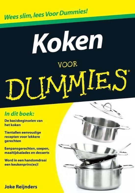Voor Dummies - Koken voor Dummies - Joke Reijnders  