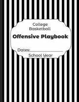 College Basketball Offensive Playbook Dates