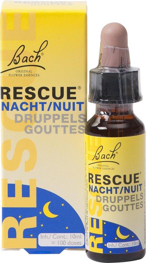 Bach rescue druppels nacht - 10 ml - Voedingssupplement