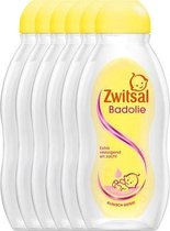 Zwitsal Baby Badolie - 6 x 200 ml - Voordeelverpakking