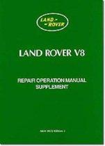 Land Rover V8 Repair Operation Manual Supplement