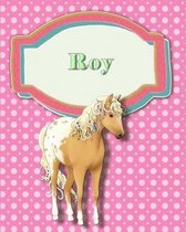 Handwriting and Illustration Story Paper 120 Pages Roy