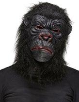 STYLER - Zwart gorilla masker voor volwassenen - Maskers > Integrale maskers