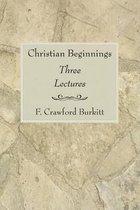 Christian Beginnings