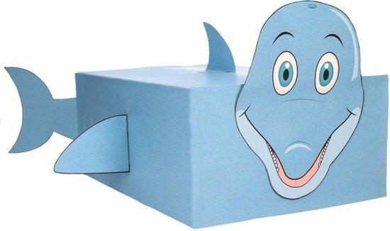 Dolfijn zelf maken knutselpakket / Sinterklaas surprise