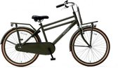 Nogan Vintage Transportfiets - Jongens - Raw Army - 24 inch
