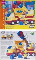 bouw vrachtwagen - Larry Lorry & pick up Pete - Wow toys - peuter speelgoed