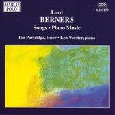 Berners Lo.: Songs.Piano Music