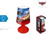 Nachtlamp / tafellamp Disney Cars (18cm)