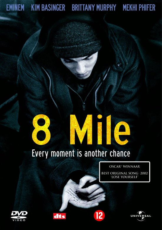Cover van de film '8 Mile'