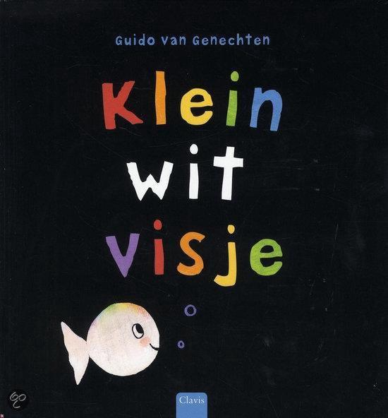 Clavisje - Klein wit visje (mini-editie) - Guido van Genechten   Fthsonline.com