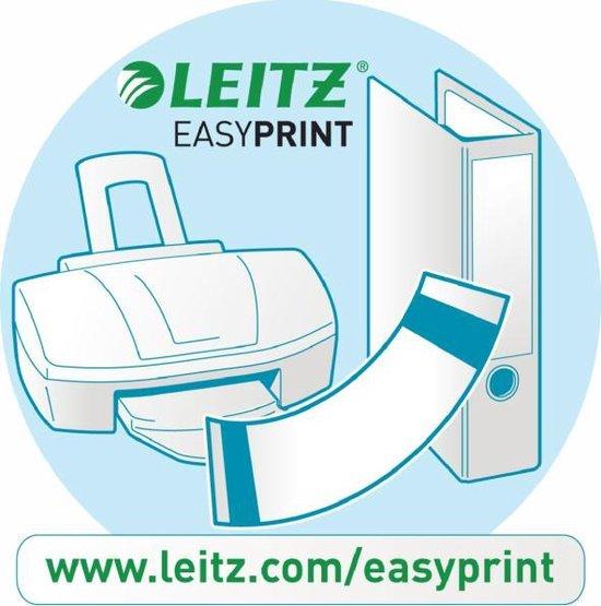 Leitz 180° Ordner Kunststof - 52 mm - A4 - Zwart - Leitz