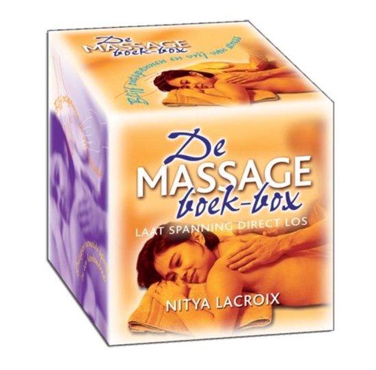 Cover van het boek 'De Massage boek-box' van N. Lacroix