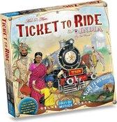 Afbeelding van Ticket to Ride India & Zwitserland - Uitbreiding - Bordspel