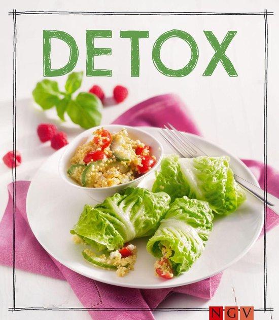 Boek cover Detox - Das Rezeptbuch van Marie Gründel (Onbekend)