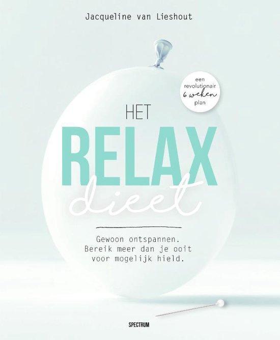 Boek cover Het relax dieet van Jacqueline van Lieshout (Paperback)