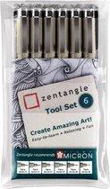 Sakura Zentangle Original tool set 6 - 6 Pigma Micron fineliners