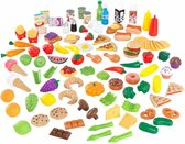 Deluxe Tasty Treat Pretend Play Food Set