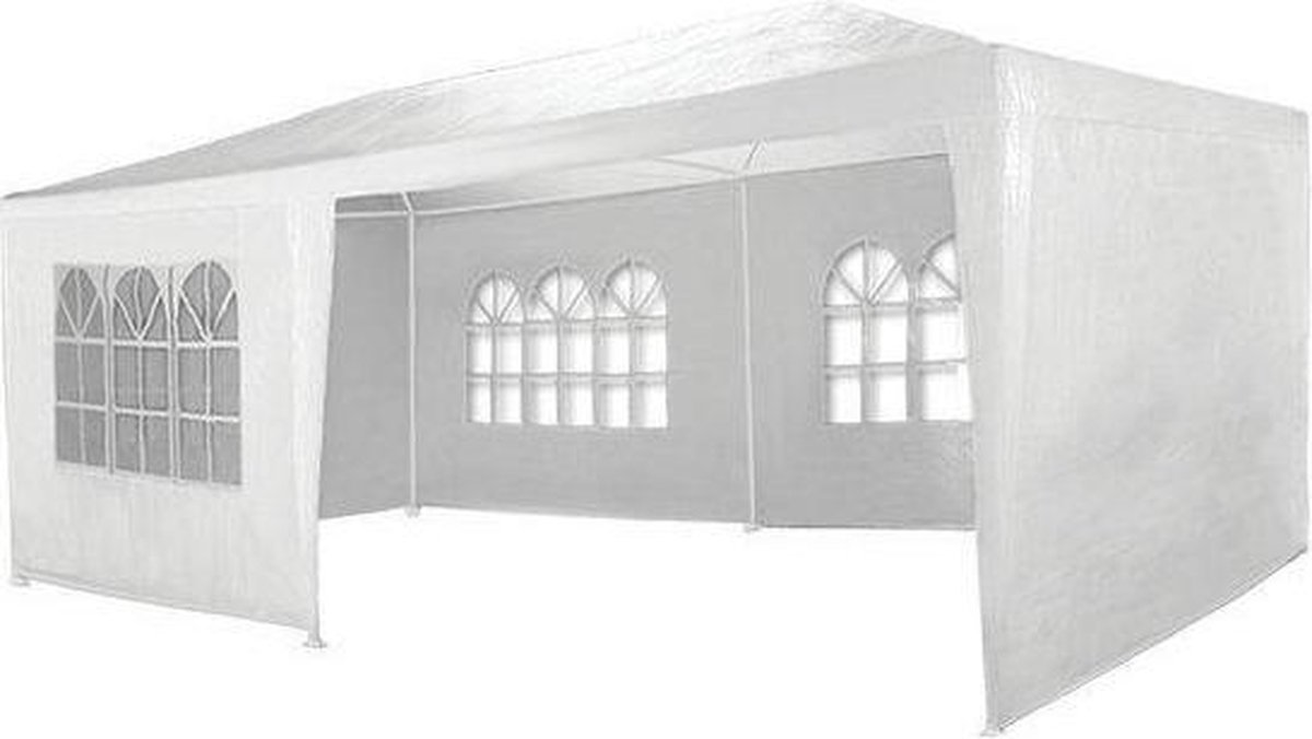 Garden Royal partytent wit - 6 zijwanden - 3 x 6 m - Garden Royal