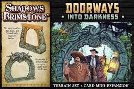 Afbeelding van het spel Asmodee Shadows of Brimstone Doorways into Darkness Exp - EN