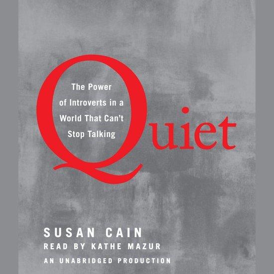 Boek cover Quiet van Susan Cain (Onbekend)