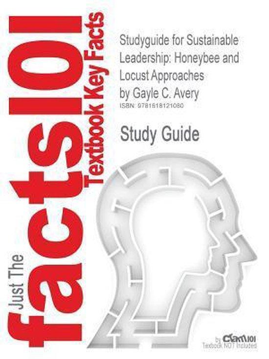 Boek cover Studyguide for Sustainable Leadership van Gayle C Avery (Paperback)