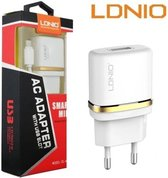 LDNIO AC50 Lader oplader met 1 Meter Micro USB Kabel geschikt voor o.a Wiko Fever Jerry Lenny 2 3 4 5 Tommy