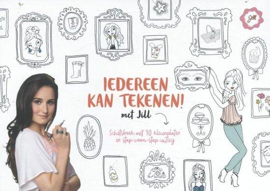 Jill - Iedereen kan tekenen met Jill (schetsboek) - Jill Schirnhofer |