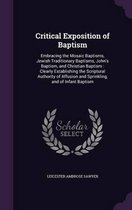 Critical Exposition of Baptism