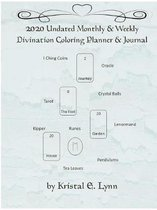 2020 Undated Monthly & Weekly Divination Coloring Planner & Journal (Perfect Bound)