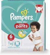 Pampers Luiers - Baby Dry Pants Maat 6 32 Stuks