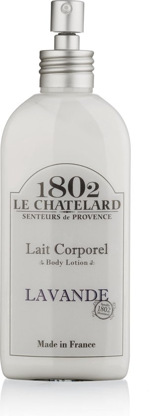 Body lotion met pompje lavendel - 200 ml -