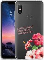 Xiaomi Redmi Note 6 Pro Hoesje Every Flower