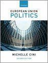 Boek cover European Union Politics 2E P van Cini