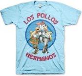 T-shirt Breaking Bad Los Pollos blauw Xl