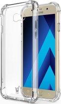 Hoesje voor Samsung Galaxy A5 (2017) - Siliconen Hoesje met Versterkte Rand Transparant TPU Shock Proof Case iCall