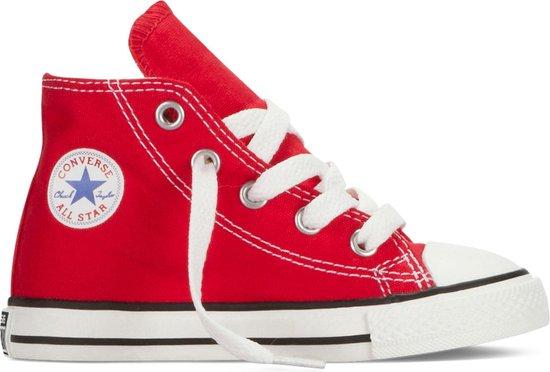 Converse Meisjes Hoge sneakers Chuck Taylor A.s Hi Kids - Rood - Maat 23