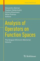 Analysis of Operators on Function Spaces
