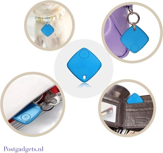 Bluetooth GPS Tracker - Wit - Merkloos