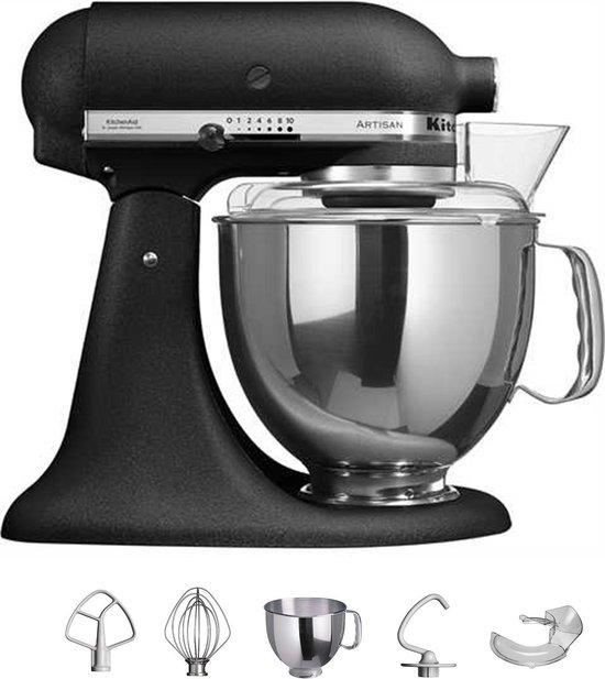 KitchenAid Artisan 5KSM150PSEBK - Keukenmachine - Vulkaan Zwart