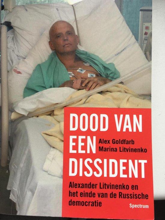 Cover van het boek 'Dood van een dissident'