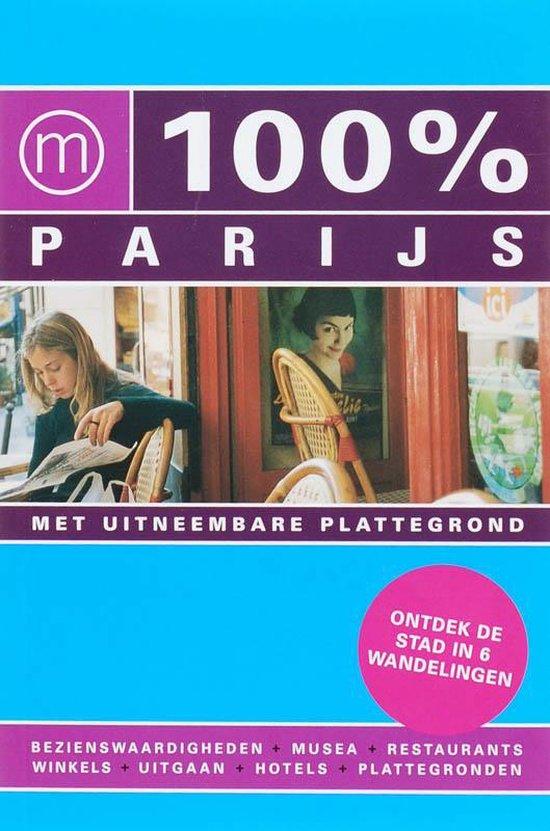 Cover van het boek '100% Parijs' van E. ter Bekke
