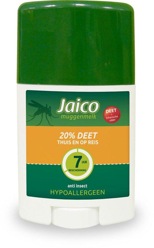 Jaico Muggenmelk - Stick 20% Deet - 5-7 Uur Bescherming - 50 Ml