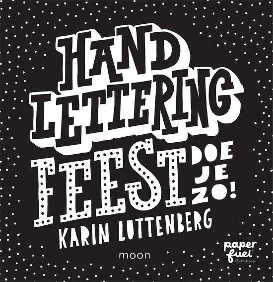 Handlettering FEEST doe je zo! - Karin Luttenberg  