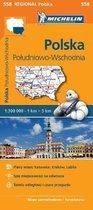 Poland South East - Michelin Regional Map 558