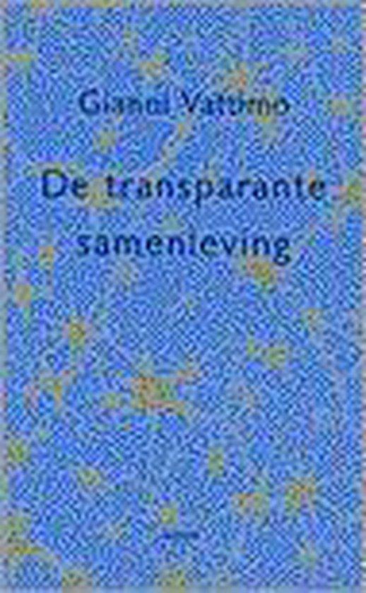 De transparante samenleving - Gilbert Adair |