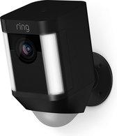 Ring Spotlight Cam Batterij - Beveiligingscamera - Zwart
