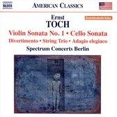 Violin Sonata No.1, Cello Sonata, Divertimento, St