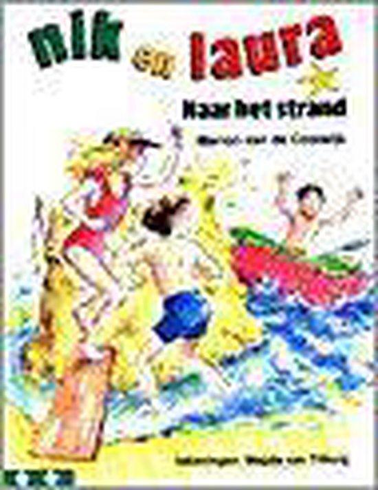 Boek cover Nik En Laura Naar Het Strand van Marion van de Coolwijk (Hardcover)