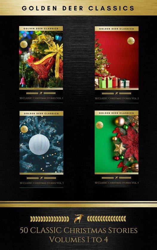 Boek cover 50 Classic Christmas Stories Maxipack: 100+ Authors, 200 Novels, Novellas, Stories, Poems & Carols (Golden Deer Classics) van Annie Roe Carr (Onbekend)